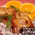 Свинина в апельсиновом соке
