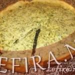 Пирог «Сырный с зеленью»