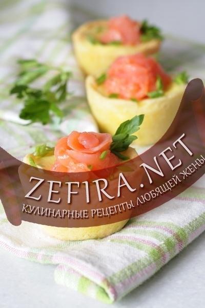 салат из семги для тарталеток рецепты