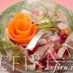 Салат «Винегрет» с селедкой