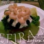 Рецепт авокадо, фаршированного креветками