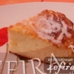 Рецепт чиз-кейка в виде творожной запеканки