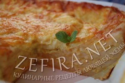 Картофельная лазанья - фото