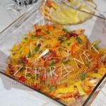 Яркий салат из красной фасоли с корейской морковью