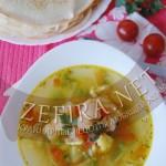 Постный рецепт супа с белокочанной и цветной капустой