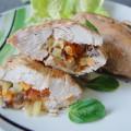 Кармашки из куриной грудки - рецепт и фото