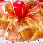 «Пасхальный венок» — пирог на Пасху