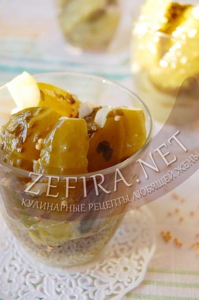 Салат из огурцов на зиму - рецепт и фото