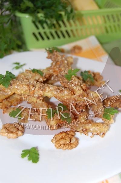 Кабачки, запеченные в духовке – необычный рецепт закуски из кабачков