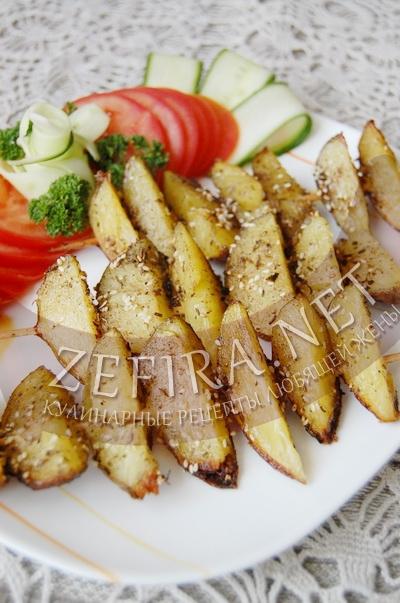 Что можно приготовить из картошки грибов и курицы в