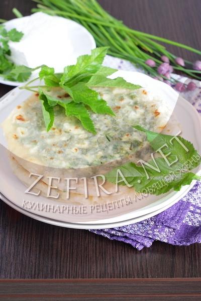 Лепешки с зеленью - рецепт и фото