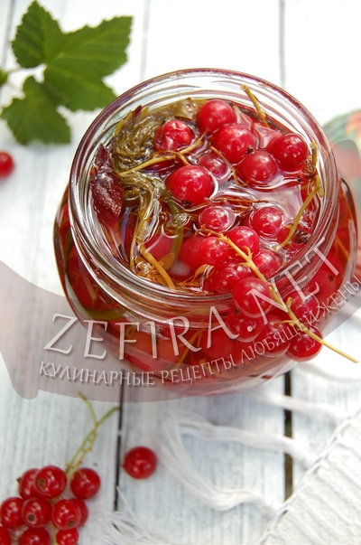 Маринованная красная смородина - заготовка из смородины на зиму
