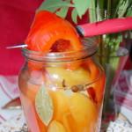 Рецепт маринованного болгарского перца – заготовка на зиму
