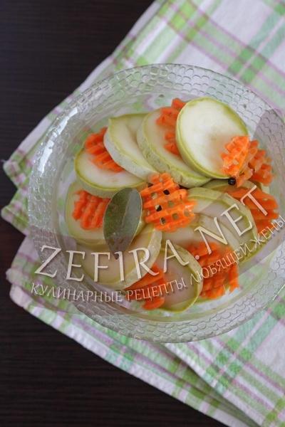 Кабачки маринованные – рецепт заготовки на зиму с фото