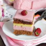 Торт с малиной — рецепт с фото