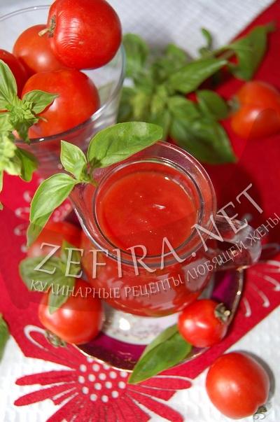 Домашний кетчуп из помидор – рецепт с чесноком