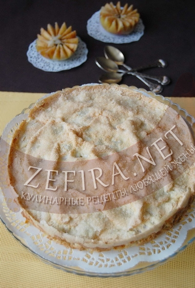 Тертый пирог с яблоками - рецепт и фото