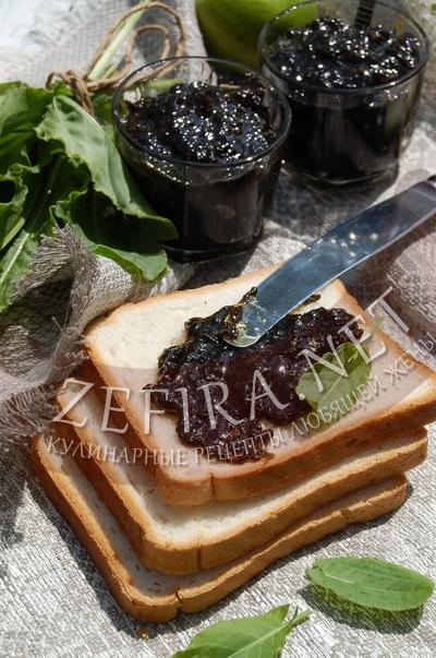 Варенье из щавеля - рецепт и фото