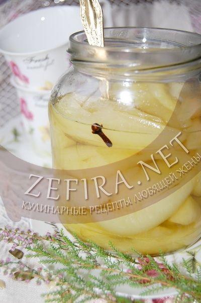 Груши в ванильном сиропе – рецепт (с фото) на зиму