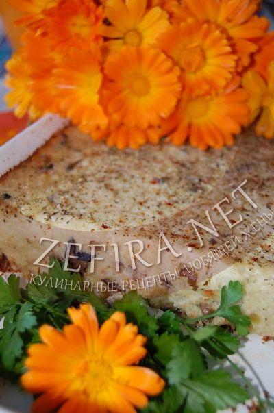 Картофельная запеканка с грибами и кабачками - рецепт и фото