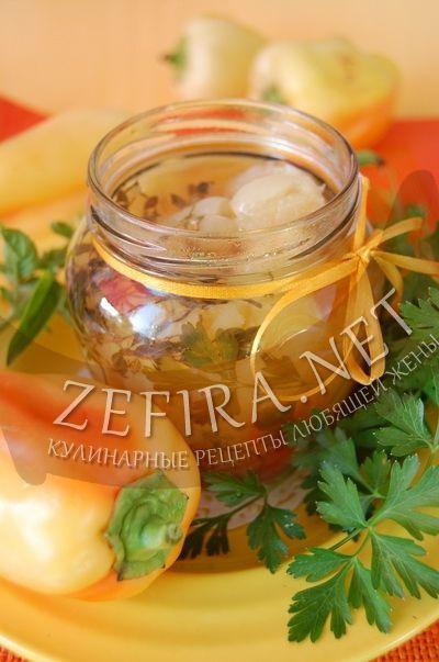 Перец болгарский маринованный целиком - рецепт и фото