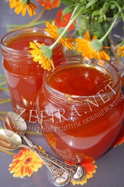 Варенье-мед из желтой алычи - рецепт и фото