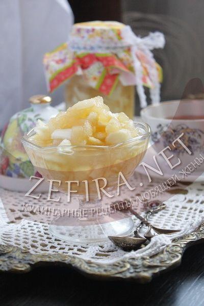 Быстрое яблочное варенье - рецепт и фото