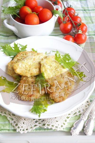 Котлеты из курицы с кабачком - рецепт и фото