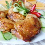 Куриные окорочка в остром маринаде