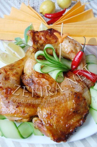 Куриные окорочка с острым маринадом - рецепт и фото