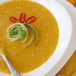 Овощной суп-пюре «Краски осени»