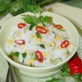 Рис с цукини и кукурузой