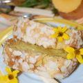 Тыквенный кекс с миндалем