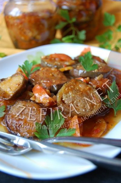 Вкусное лечо с баклажанами и помидорами - рецепт и фото
