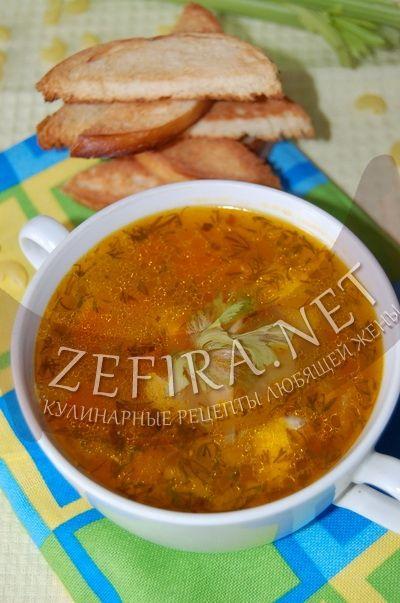 Куриный суп с овощами - рецепт и фото