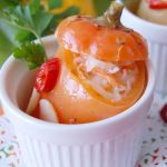 Сладкий перец, фаршированный капустой – рецепт на зиму