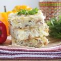 Пирог с сырой картошкой