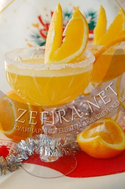Десерт из апельсинов - рецепт и фото