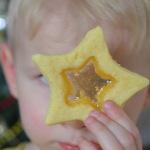 Новогоднее печенье — рецепт с карамелью
