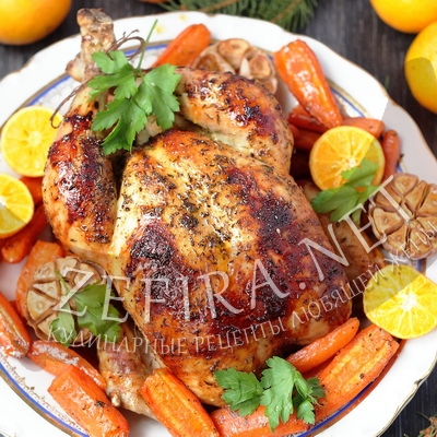 как приготовить курицу с соевым соусом в духовке рецепт