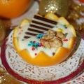 Творожный крем с апельсинами