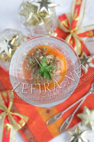 Закуска из моркови в апельсиновом соке - рецепт и фото