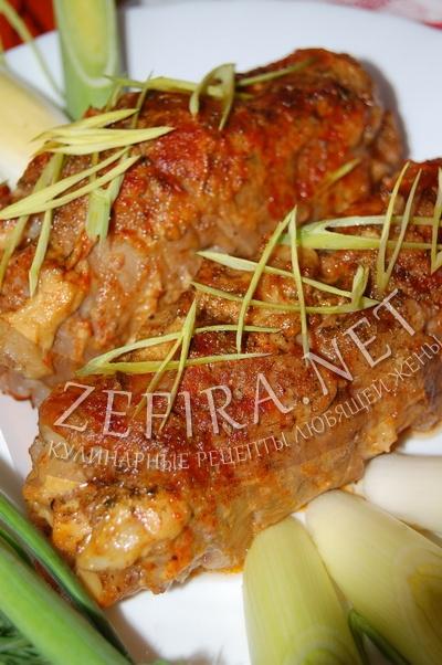Рецепт приготовления свиных ножек запеченых - рецепт и фото