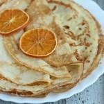 Апельсиновые блины — пошаговый рецепт приготовления