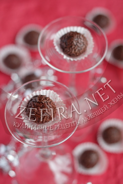 Шоколадные конфеты из сгущенки своими руками - рецепт и фото