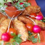Куриное филе в панировке из картофельных чипсов