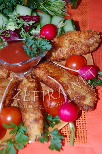 Куриное филе в панировке - рецепт и фото