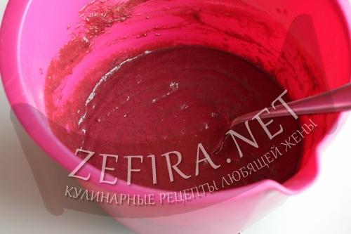 Постный шоколадный бисквит без яиц - шаг4