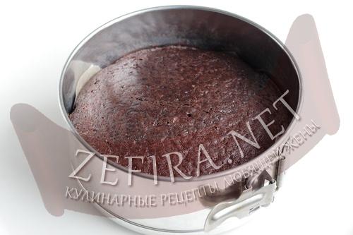 Постный шоколадный бисквит без яиц - шаг6