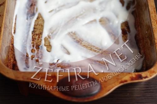 Сборка лазаньи Болоньезе с соусом Бешамель шаг1
